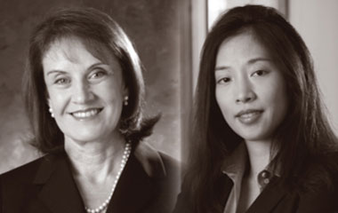 Suzan Cardwell and Laverne Chang